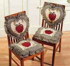 Dining Room Chair Cushions With Ties by Chair Pads For Kitchen Chairs Inspirations With Cushions Ties