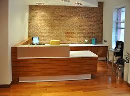 Custom Reception Desk Arnold Reception Desks Inc Custom Anglo Irish Bank New York