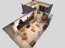 Hand Rendered Floor Plan Freelance 3d Interior Exterior Renderings Graphics U0026 Autocad