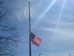 Flying The Flag At Half Staff File Us Flag At Half Staff Jpg Wikimedia Commons