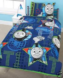 Train Cot Bed Duvet Cover Thomas U0026 Friends Aboard Cot Bed Size Duvet Cover Set Junior