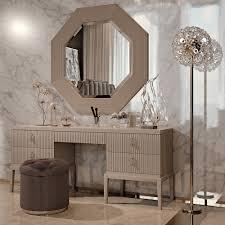 Small Makeup Vanity Bedroom Furniture Vanity Desk With Mirror Vintage Dressing Table