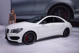 mercedes cla45 amg mercedes 45 amg debuts at the york auto