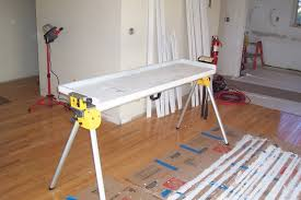 Table Saw Stand With Wheels Coping With Miter Saw Stand Tools U0026 Equipment Contractor Talk