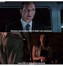 Memes Pronounce - really coulson you can t pronounce biology or chemistry
