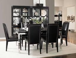 black dining room furniture decorating ideas extraordinary design