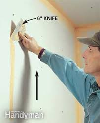 How To Hang Drywall On Ceiling By Yourself by How To Tape Drywall Family Handyman