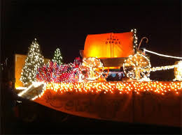 christmas light parade floats cowboy christmas parade float payson ponderings payson s
