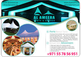 wedding supply rentals wedding supply rentals al ameera tents shades
