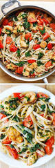 Dinner Ideas With Shrimp And Pasta Check Out Shrimp Tomato And Spinach Pasta In Garlic Butter Sauce