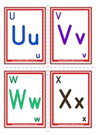 alphabet flashcards classic alphabet letter aussie childcare