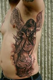 47 best angels rib tattoos for guys images on pinterest ribs