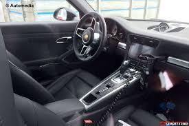 porsche cayman interior 2017 fresh porsche 911 turbo s facelift spy shots reveal updated