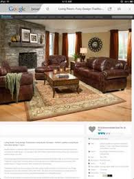 Decorating Ideas For Living Rooms With Brown Leather Furniture by Wonderful Classic Style Dark Brown Leather Living Room Sectional