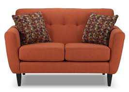picture of couch loveseat orange couch fabric loveseat orange fabric couch orange