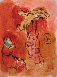 marc chagall drawings for the bible series 1958 1960 color