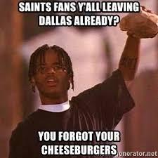 Cowboys Saints Meme - dallas cowboys fan be like meme generator