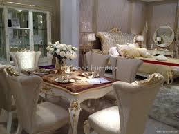 solid furniture new style dining room gold foil decorate