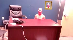 Spiderman Meme Desk - everyone at work is in costume and i m just sitting here funny