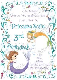 princess sofia birthday invitations alanarasbach com