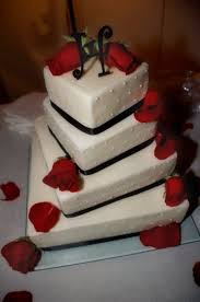 square twisted wedding cake cakecentral com