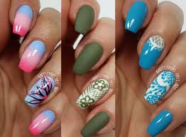 3 easy accent nail ideas freehand 2 khrystynas nail art youtube