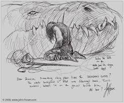 dragon u0027s curse first sketch by john howe john howe pinterest