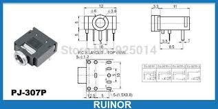 1 4 quot stereo jack wiring diagram wire 4 pole headphone diagram