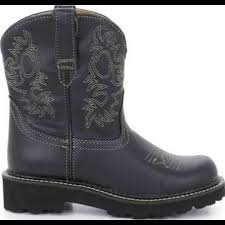 s fatbaby boots size 12 68 ariat boots ariat black leather size 6 5 fatbaby cowboy