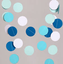 Hanging Decorations For Home by Aliexpress Com Buy 10 Feets Blue Paper Garland Popular Wedding