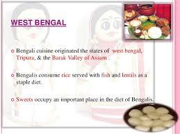 food pattern of east u0026 north east india