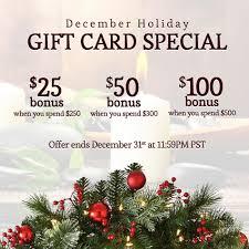 gift card specials citrus exfoliating wash ra organic spa