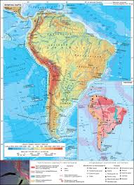 Atacama Desert Map South America Physical Map Tectonics The Geography Of