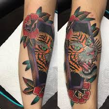 rebel muse tattoos nature tiger tiger in