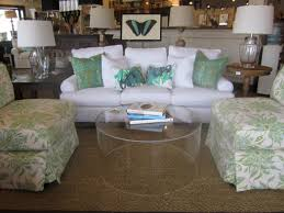 Waterfall Glass Coffee Table by Round Lucite Coffee Table An Edgy Glass Like Alternative Coffe