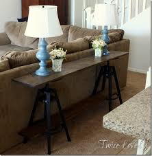 8 Foot Sofa Table New House Update And Ikea Hack Sofa Table From Twice Lovely Uses