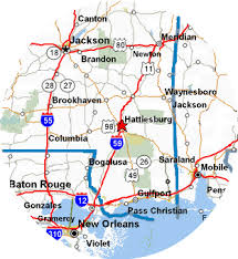 map of hattiesburg ms south mississippi canoe rental