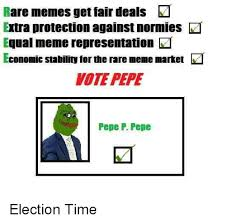 Rare Memes - rare memes get fair deals extra protection against normies equal