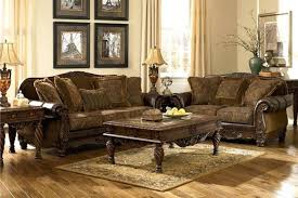Wooden Living Room Sets Living Room Furniture Traditional Large Traditional Sofa