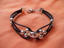leather bracelet with silver beads images 546 best jewelry leather inspirations images jpg