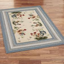Rooster Runner Rug Washable Small Kitchen Throw Rugs Kitchen Runners For Hardwood