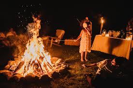 rustic wedding venues ny catskills new york bonfire barn wedding equally wed