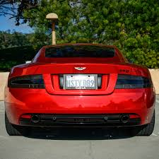 chrome aston martin red chrome aston martin db9 madwhips