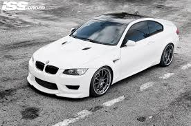 custom white bmw bmw m3 on iss forged rx 10r white iss forged handcrafted for