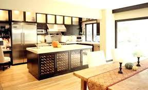 kitchen islands with wine rack amazing kitchen with creamy white
