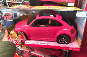 barbie toy cars barbie vw beetle car u0026 doll set only 16 99 at kohl u0027s reg