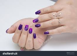 nail polish stock photo natural nails and amazing clean manicure