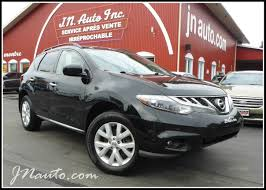 nissan suv 2012 used nissan murano vehicle for sale in estrie jn auto