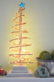 spiral christmas tree spiral copper christmas tree
