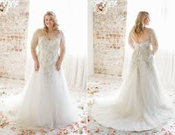 plus size wedding dress designers bridal spotlight 10 plus size wedding dresses with sleeves plus